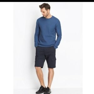Vince navy blue cargo shorts